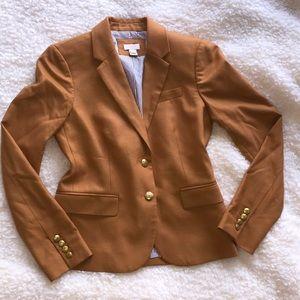 JCrew tan blazer